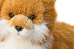Beau mignon de jouet de Dolly Dog sur le fond blanc Image libre de droits