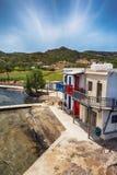 Beau Milos Seascape, Grèce photographie stock libre de droits