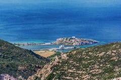 Beau Milos Seascape, Grèce photos libres de droits