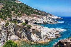 Beau Milos Seascape, Grèce images stock