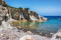 Beau Milos Seascape, Grèce photographie stock