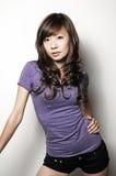Beau modèle asiatique Photographie stock libre de droits
