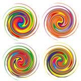 Beau modèle circulaire pour votre conception illustration de vecteur
