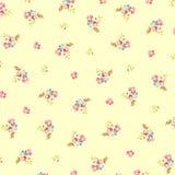 Beau modèle floral avec de petites fleurs Illustration de Vecteur