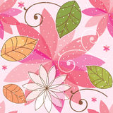 Beau modèle floral sans couture Image stock