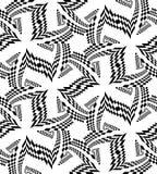 Beau modèle polygonal noir sans couture sur le blanc Fond abstrait géométrique Illustration Stock