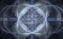 Beau modèle symétrique abstrait Image libre de droits