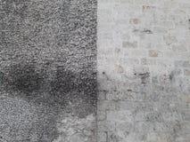 Beau mur d'église catholique Photographie stock libre de droits