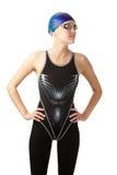 Beau nageur Image libre de droits
