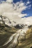 Beau naturel de montagnes d'Alpes Images libres de droits