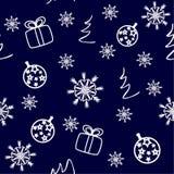 Beau Noël de carte de Noël illustration de vecteur