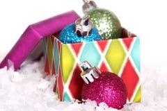 Beau Noël gras Images stock
