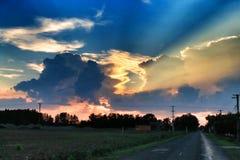 Beau nuage Image stock