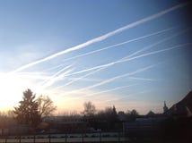 Beau nuage Photographie stock libre de droits