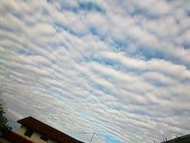 Beau nuage, modèle de nuage Images stock