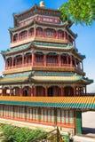 Beau palais d'été impérial dans Pékin, Chine photo stock