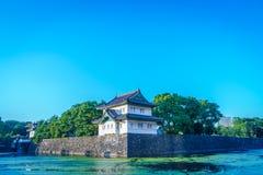 Beau palais impérial à Tokyo, Japon image stock