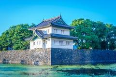 Beau palais impérial à Tokyo, Japon photo libre de droits