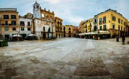 Beau panorama de Bari Old Town Image stock