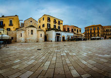 Beau panorama de Bari Old Town Photographie stock libre de droits