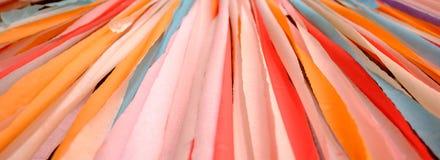 Beau papier multicolore comme fond Photo stock