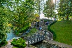 Beau parc de Belmontas images stock
