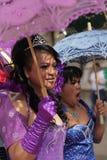 Beau participant des gays et lesbiennes Pride Parade Images libres de droits