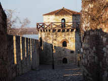 Beau passage à Belgrade Kalemegdan Photographie stock