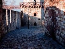 Beau passage à Belgrade Kalemegdan Image stock