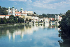 Beau Passau, Bavière inférieure, Allemagne Photographie stock