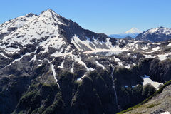 Beau Patagonia, iris d'Arco, Cochamo, Chili images libres de droits