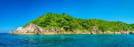 Beau paysage, île de Similan, Thaïlande Photo libre de droits