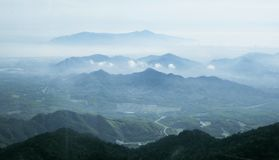 Beau paysage au Da Nang, Vietnam Image stock