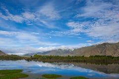 Beau paysage au Thibet de la Chine Images libres de droits