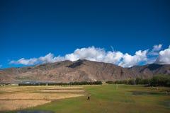 Beau paysage au Thibet de la Chine Photo libre de droits