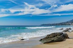 Beau paysage autour de Laguna Beach photographie stock libre de droits