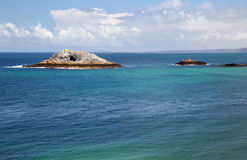 Beau paysage cornouaillais Photo stock