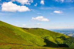 Beau paysage d'été en montagnes Photo libre de droits