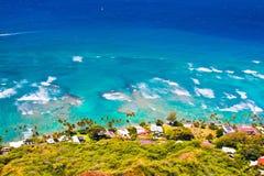 Beau paysage d'Oahu, Hawaï images stock
