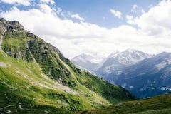 Beau paysage dans les Alpes Image libre de droits