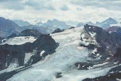 Beau paysage dans les Alpes Image stock