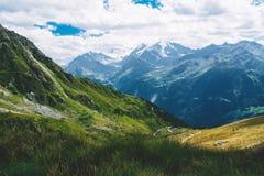 Beau paysage dans les Alpes Photos libres de droits