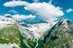 Beau paysage dans les Alpes Photographie stock