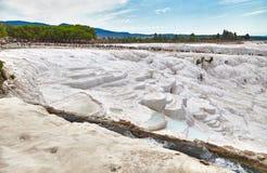 Beau paysage dans Pamukkale Photo stock