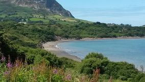 beau paysage de gallois Image libre de droits