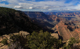 Beau paysage de Grand Canyon de jante du sud, Arizona, Uni Photo libre de droits