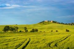 Beau paysage de la Toscane Image libre de droits