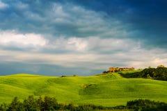 Beau paysage de la Toscane Photos stock