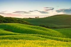 Beau paysage de la Toscane Photographie stock libre de droits