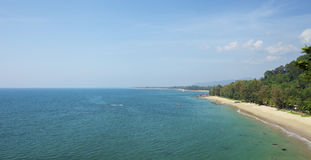 Beau paysage de mer Photo stock